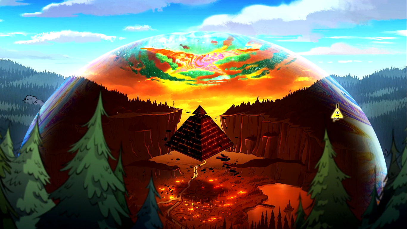 gravity falls   s02e19   weirdmageddon part 2 escape from reality
