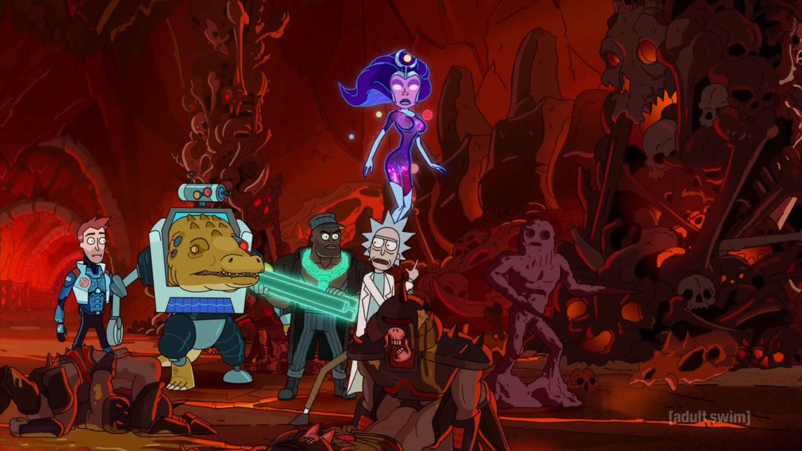 Rick and Morty – T3E04 – Vindicators [Sub. Español]
