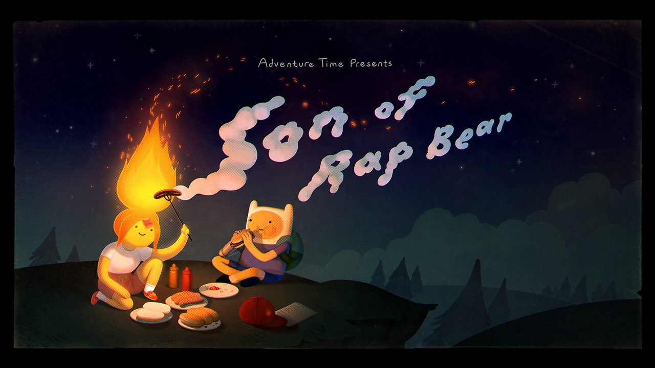Adventure Time – T9E17 – Son of Rap Bear [Sub. Español]