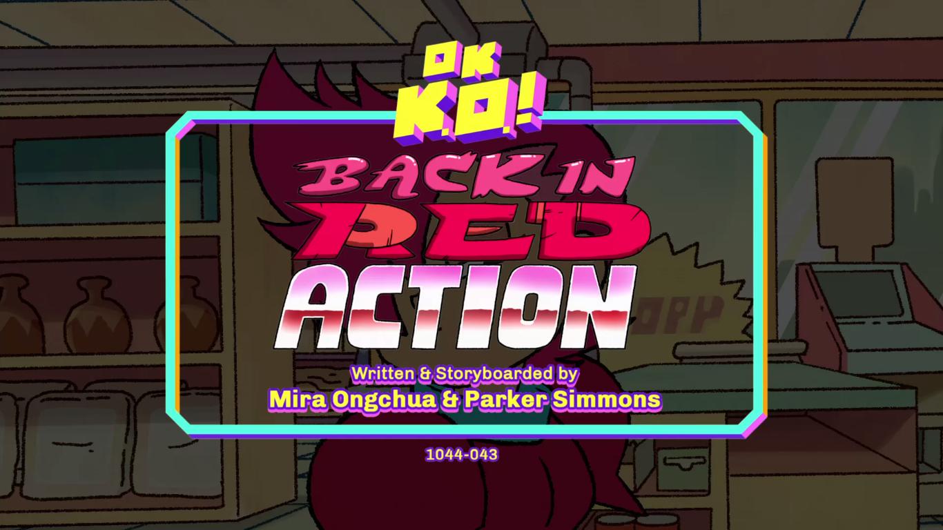 OK K.O.! Let's Be Heroes – T1E39 – Back in Red Action [Sub. Español]
