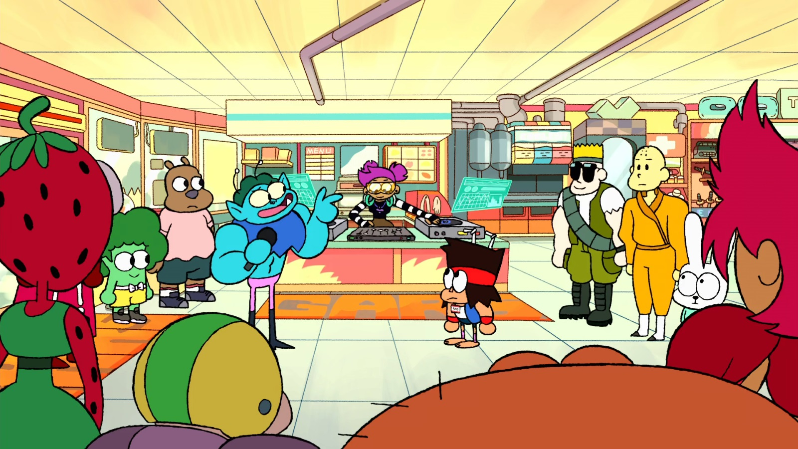OK K.O.! Let's Be Heroes – T1E12 – You are Rad [Sub. Español]