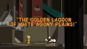 Ducktales – T1E015 – The Golden Lagoon of White Agony Plains! [Sub. Español]