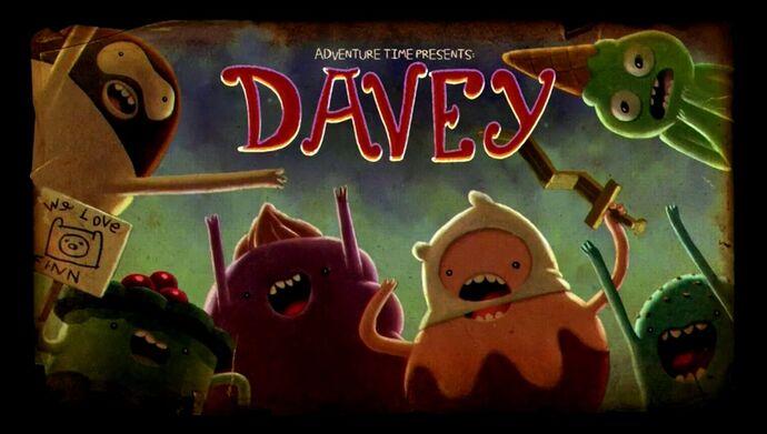 Adventure Time – T5E07 – Davey [Sub. Español]
