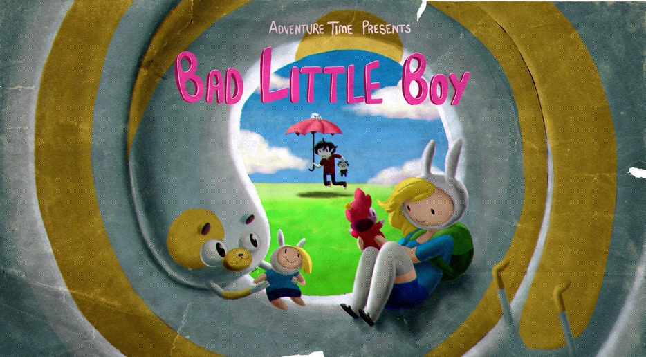 Adventure Time – T5E09 – Bad Little Boy [Sub. Español]