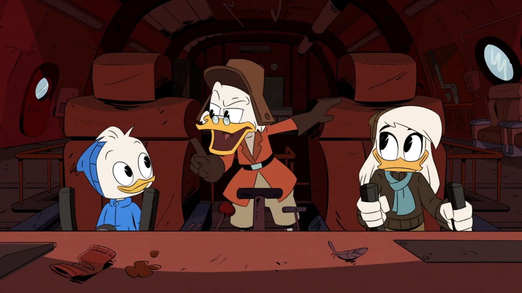 DuckTales – T02E13 – Raiders of the Doomsday Vault! [Sub. Español]