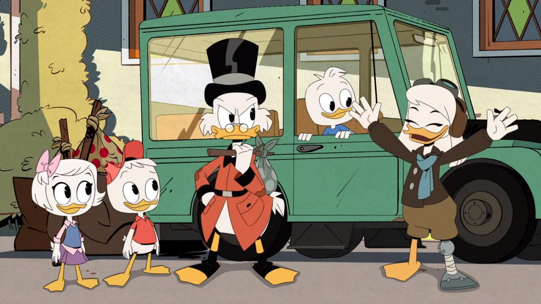 DuckTales – T02E22 – GlomTales! [Sub. Español]