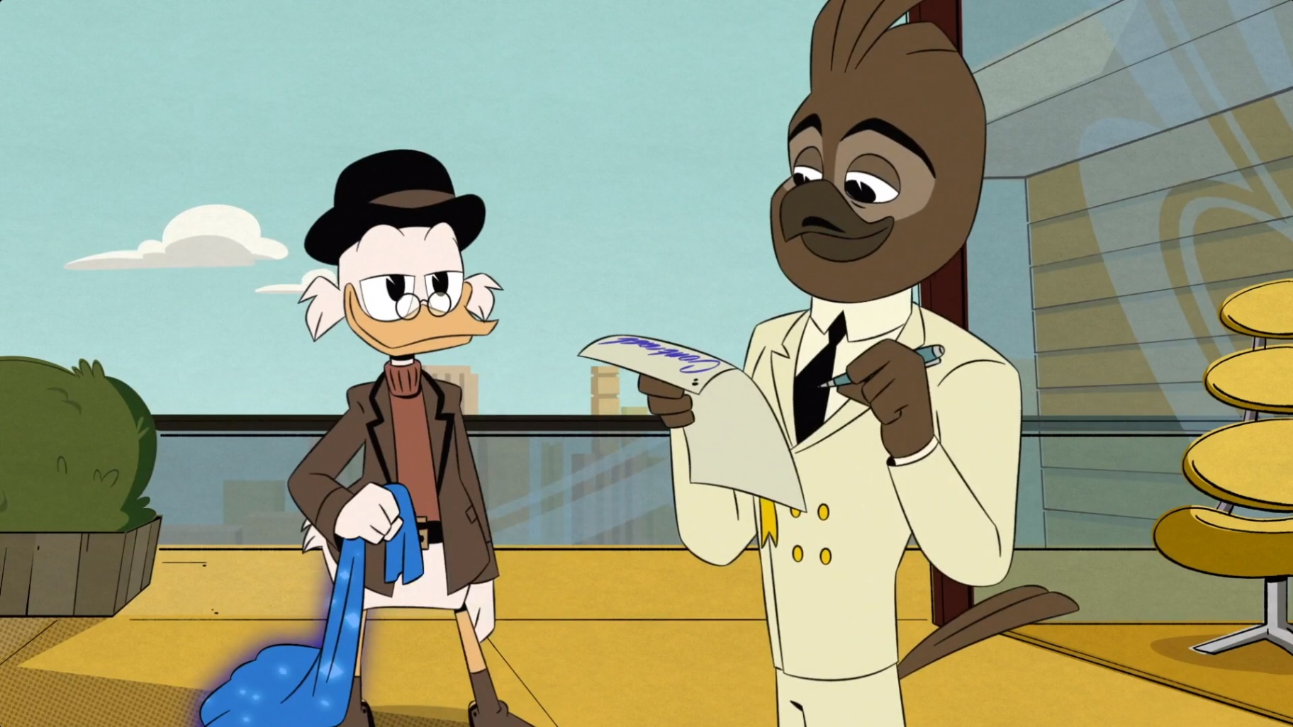 DuckTales – T02E23 – The Richest Duck in the World! [Sub. Español]