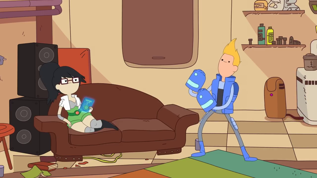 Bravest Warriors – T4E04 – Chained to Your Side [Sub Español]