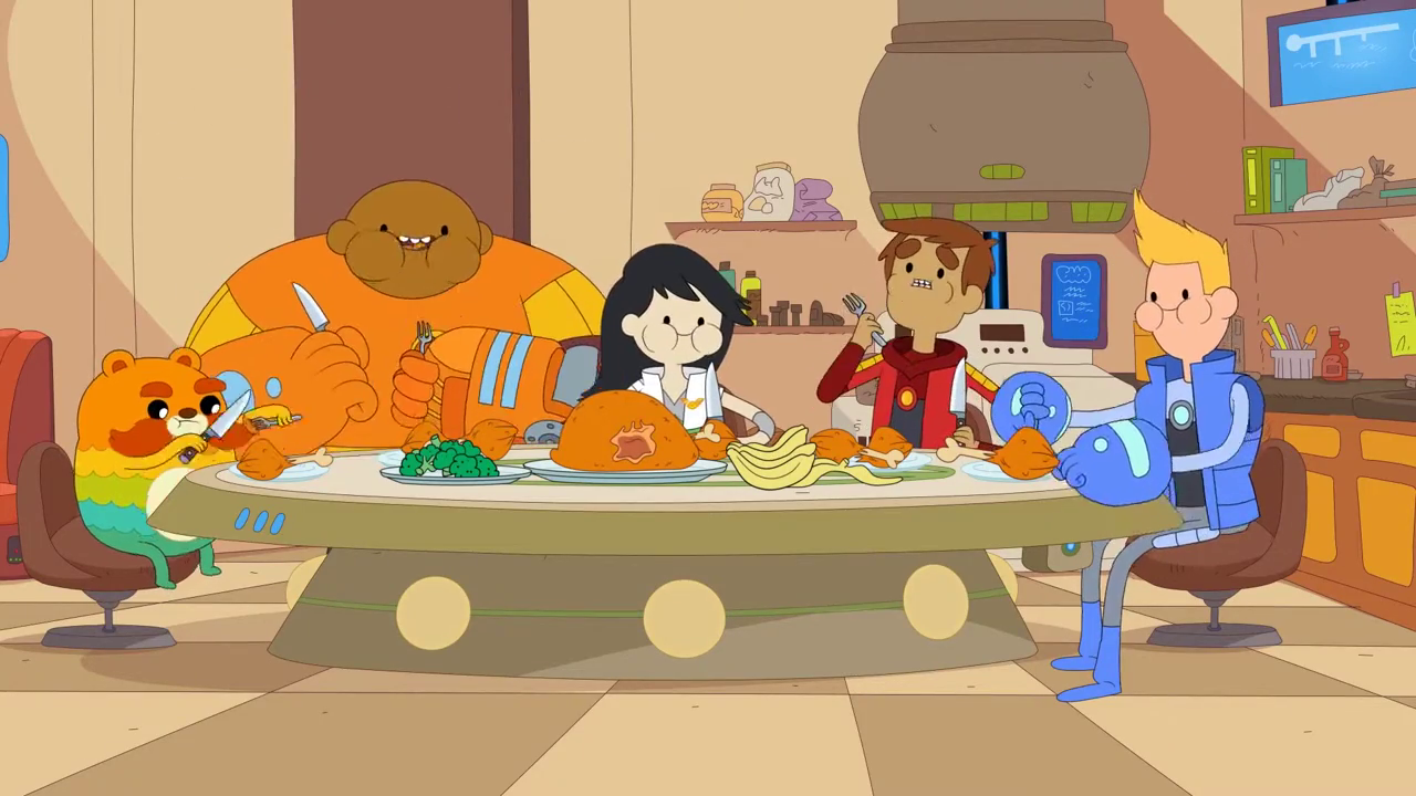 Bravest Warriors – T4E45 – Mouth is Alive With Juices Like Wine [Sub Español]