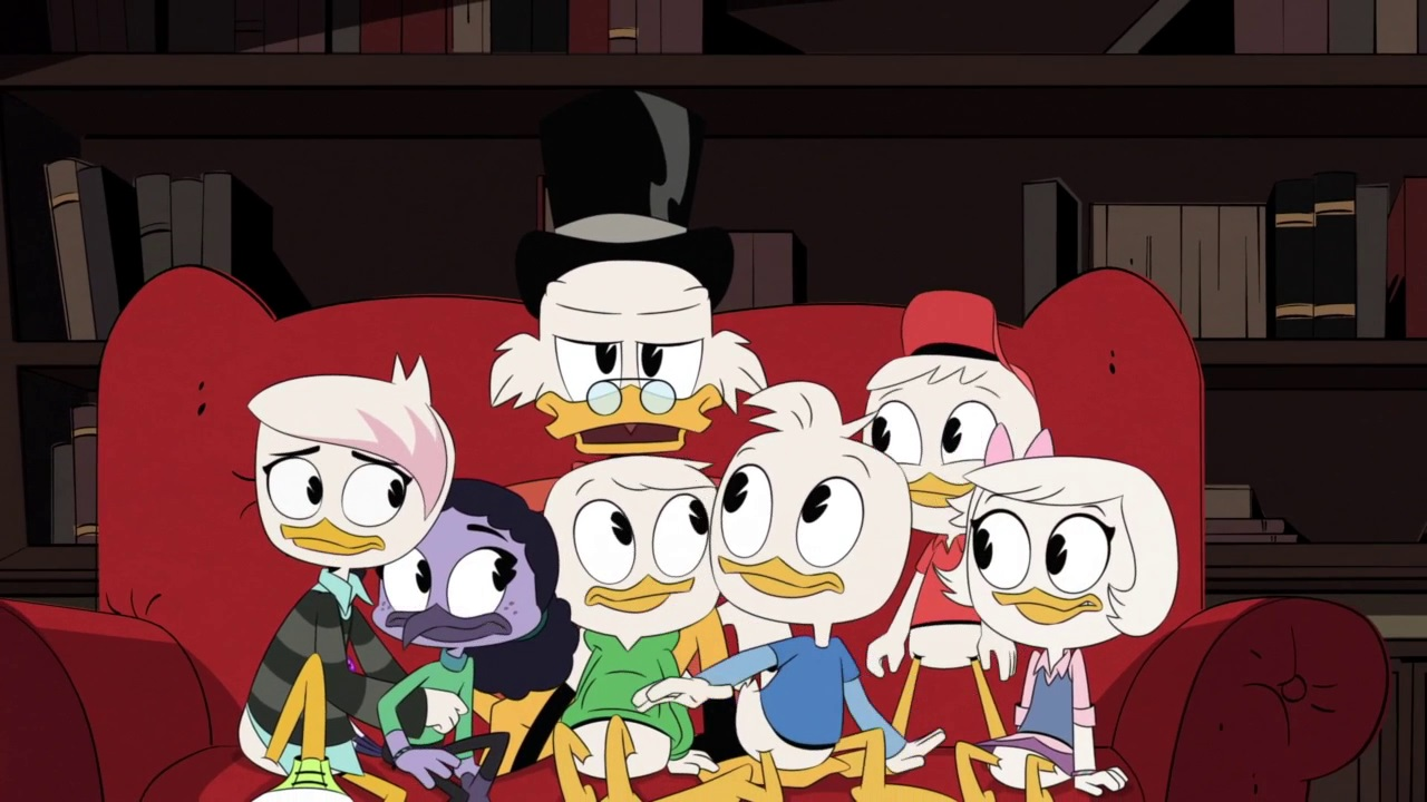 DuckTales – T03E08 – The Phantom and the Sorceress [Sub. Español]