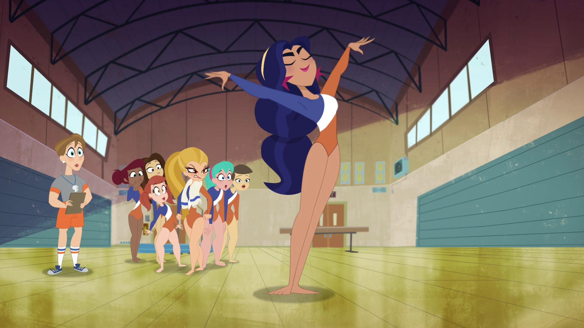 DC Super Hero Girls – T1E08 – #MeetTheCheetah [Sub. Español]