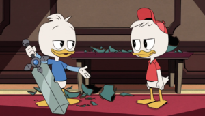 DuckTales – T03E13 – Escape from the ImpossiBin! [Sub. Español]