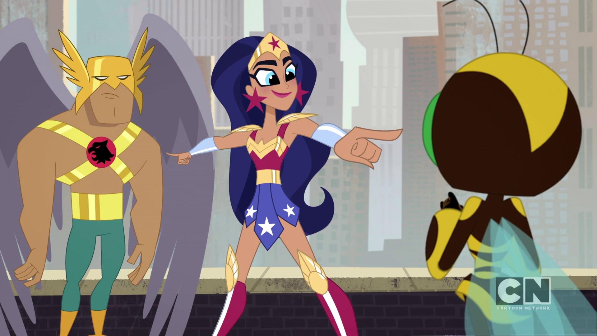 DC Super Hero Girls – T1E47 – #TheBirdAndTheBee [Sub. Español]