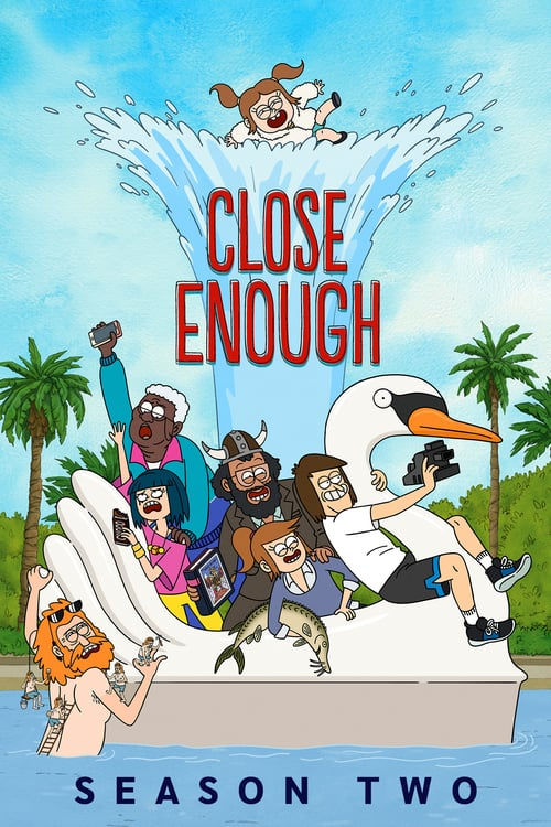 Close Enough – T02E01 – Josh Gets Shredded & Meet the Frackers [Sub. Español]