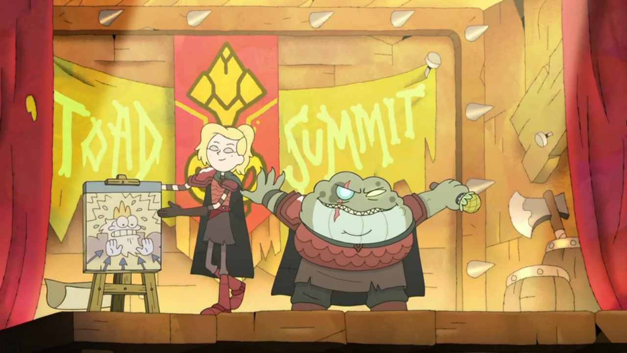 Amphibia – T02E30E31 – Amphibia – The Second Temple / Barrel's Warhammer [Sub. Español]