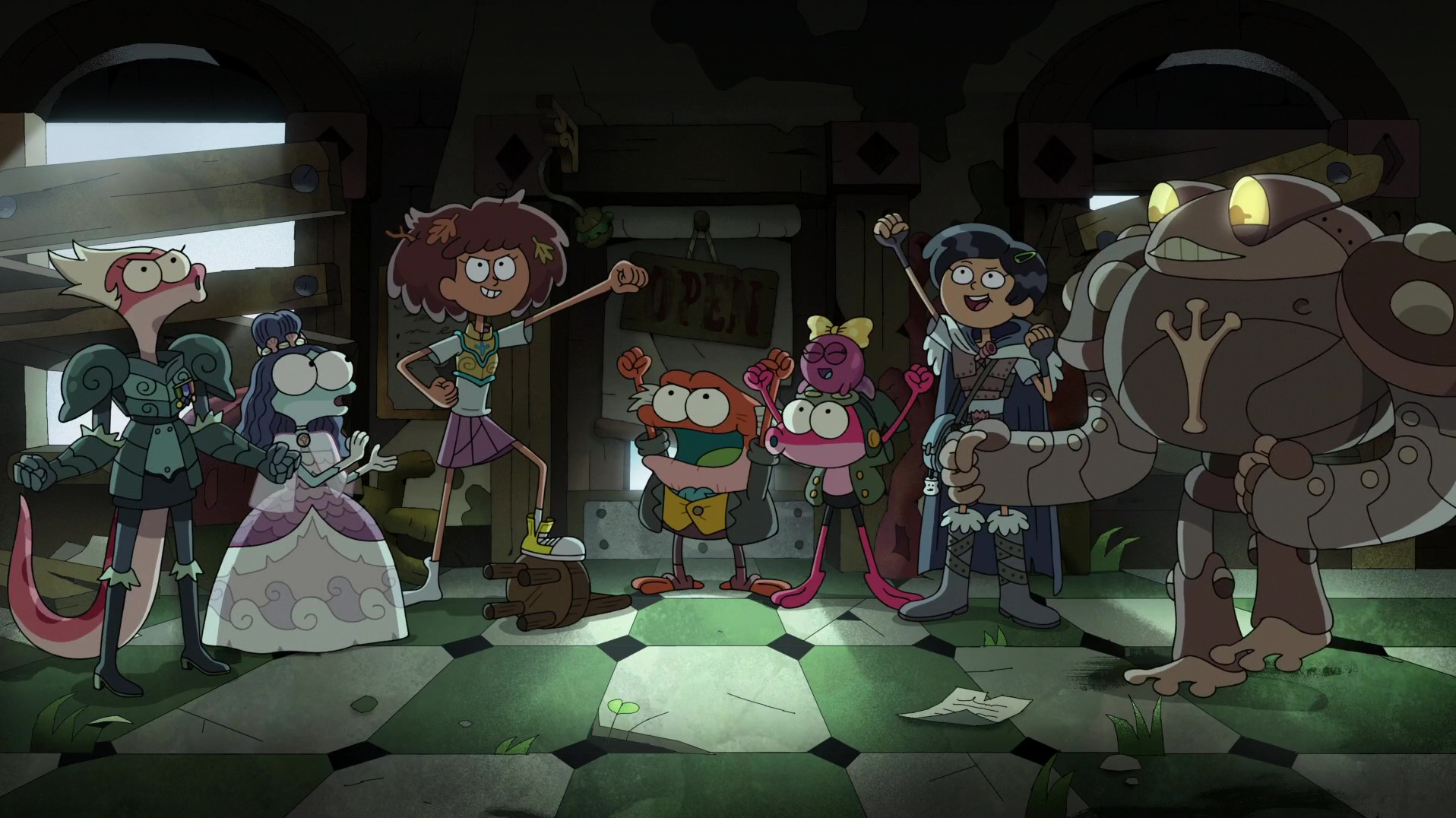 Amphibia – T02E36 – True Colors [Sub. Español]