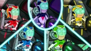 Rick and Morty – T5E07 – Gotron Jerrysis Rickvangelion [Sub. Español]